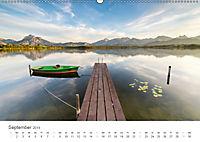Alpine Seelandschaften (Wandkalender 2019 DIN A2 quer) - Produktdetailbild 9