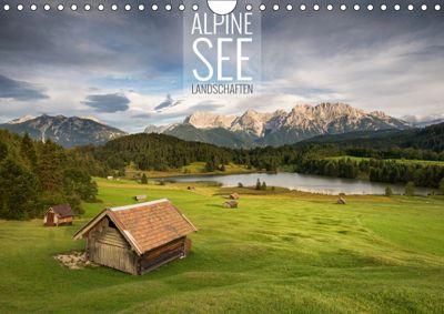 Alpine Seelandschaften (Wandkalender 2019 DIN A4 quer), Christian Bremser
