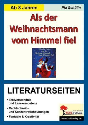 Als der Weihnachtsmann vom Himmel fiel - Literaturseiten, Pia Schülin