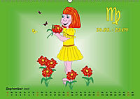 Als die Sternzeichen noch Kinder waren (Wandkalender 2019 DIN A2 quer) - Produktdetailbild 12