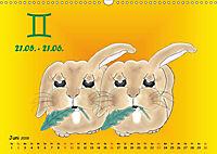 Als die Sternzeichen noch Kinder waren (Wandkalender 2019 DIN A3 quer) - Produktdetailbild 6