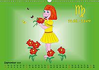 Als die Sternzeichen noch Kinder waren (Wandkalender 2019 DIN A3 quer) - Produktdetailbild 9