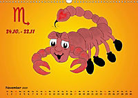 Als die Sternzeichen noch Kinder waren (Wandkalender 2019 DIN A3 quer) - Produktdetailbild 11