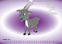 Als die Sternzeichen noch Kinder waren (Wandkalender 2019 DIN A4 quer) - Produktdetailbild 1