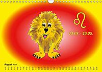 Als die Sternzeichen noch Kinder waren (Wandkalender 2019 DIN A4 quer) - Produktdetailbild 8