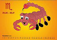 Als die Sternzeichen noch Kinder waren (Wandkalender 2019 DIN A2 quer) - Produktdetailbild 11