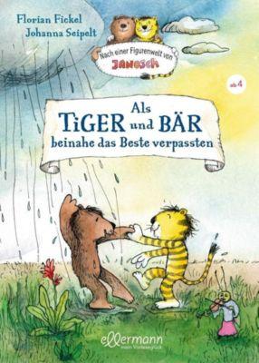 CD Fickel Sonstige Spielzeug-Artikel Janosch Tiger Bär sein wollte