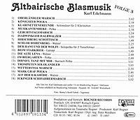 Altbairische Blasmusik Folge 3 - Produktdetailbild 1