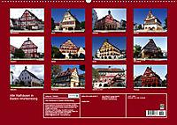 Alte Rathäuser in Baden-Württemberg (Wandkalender 2019 DIN A2 quer) - Produktdetailbild 1