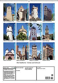 Alte Stadttürme - Schutz und Schmuck (Wandkalender 2019 DIN A2 hoch) - Produktdetailbild 1