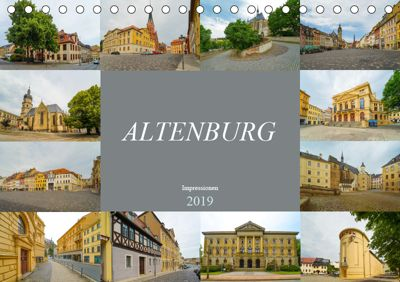 Altenburg Impressionen (Tischkalender 2019 DIN A5 quer), Dirk Meutzner
