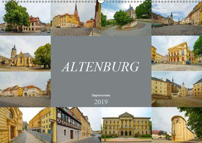 Altenburg Impressionen (Wandkalender 2019 DIN A2 quer), Dirk Meutzner