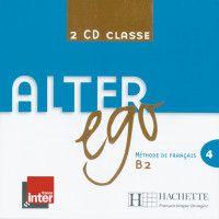 Alter ego: Bd.4 2 Audio-CDs pour la classe