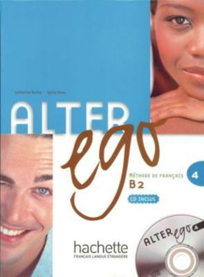 Alter ego: Bd.4 Kursbuch, m. Audio-CD