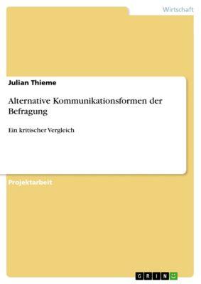 Alternative Kommunikationsformen der Befragung, Julian Thieme