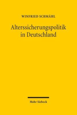 Alterssicherungspolitik in Deutschland, Winfried Schmähl