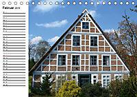 Altländer Fachwerkhäuser (Tischkalender 2019 DIN A5 quer) - Produktdetailbild 2