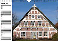 Altländer Fachwerkhäuser (Wandkalender 2019 DIN A4 quer) - Produktdetailbild 1