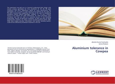 Aluminium tolerance in Cowpea, Jitendra Kumar Kushwaha, Uzma Khatoon