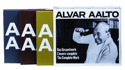 Alvar Aalto - Das Gesamtwerk / L'oeuvre complète / The Complete Work, 3 Tle., Alvar Aalto