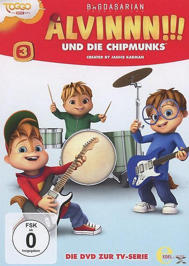 Alvinnn Und Die Chipmunks Vol 3 Dvd Weltbildat