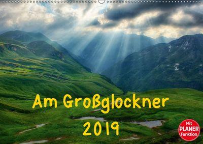 Am Großglockner - Planer (Wandkalender 2019 DIN A2 quer), Kirsten Karius