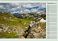 Am Großglockner - Planer (Wandkalender 2019 DIN A2 quer) - Produktdetailbild 9