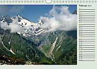 Am Großglockner - Planer (Wandkalender 2019 DIN A4 quer) - Produktdetailbild 2