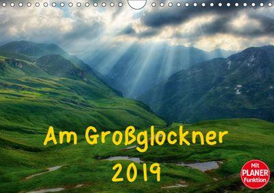 Am Großglockner - Planer (Wandkalender 2019 DIN A4 quer), Kirsten Karius