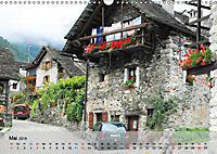 Am Lago Maggiore - Aquarelle und Fotografien (Wandkalender 2019 DIN A3 quer) - Produktdetailbild 5