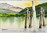 Am Lago Maggiore - Aquarelle und Fotografien (Wandkalender 2019 DIN A3 quer) - Produktdetailbild 10