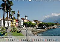 Am Lago Maggiore - Aquarelle und Fotografien (Wandkalender 2019 DIN A3 quer) - Produktdetailbild 11