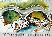 Am Lago Maggiore - Aquarelle und Fotografien (Wandkalender 2019 DIN A4 quer) - Produktdetailbild 2