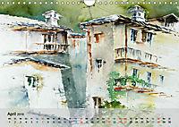 Am Lago Maggiore - Aquarelle und Fotografien (Wandkalender 2019 DIN A4 quer) - Produktdetailbild 4