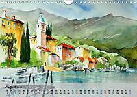 Am Lago Maggiore - Aquarelle und Fotografien (Wandkalender 2019 DIN A4 quer) - Produktdetailbild 8
