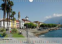 Am Lago Maggiore - Aquarelle und Fotografien (Wandkalender 2019 DIN A4 quer) - Produktdetailbild 11