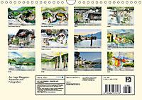 Am Lago Maggiore - Aquarelle und Fotografien (Wandkalender 2019 DIN A4 quer) - Produktdetailbild 13