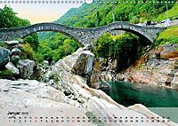 Am Lago Maggiore - Aquarelle und Fotografien (Wandkalender 2019 DIN A3 quer) - Produktdetailbild 1