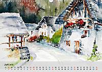 Am Lago Maggiore - Aquarelle und Fotografien (Wandkalender 2019 DIN A3 quer) - Produktdetailbild 6