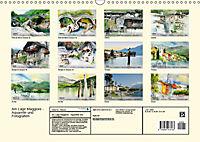 Am Lago Maggiore - Aquarelle und Fotografien (Wandkalender 2019 DIN A3 quer) - Produktdetailbild 13