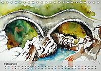 Am Lago Maggiore - Aquarelle und Fotografien (Tischkalender 2019 DIN A5 quer) - Produktdetailbild 2