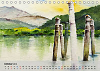 Am Lago Maggiore - Aquarelle und Fotografien (Tischkalender 2019 DIN A5 quer) - Produktdetailbild 10