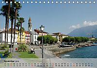 Am Lago Maggiore - Aquarelle und Fotografien (Tischkalender 2019 DIN A5 quer) - Produktdetailbild 11