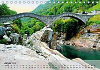 Am Lago Maggiore - Aquarelle und Fotografien (Tischkalender 2019 DIN A5 quer) - Produktdetailbild 1