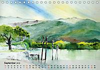 Am Lago Maggiore - Aquarelle und Fotografien (Tischkalender 2019 DIN A5 quer) - Produktdetailbild 9