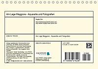 Am Lago Maggiore - Aquarelle und Fotografien (Tischkalender 2019 DIN A5 quer) - Produktdetailbild 13
