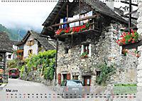 Am Lago Maggiore - Aquarelle und Fotografien (Wandkalender 2019 DIN A2 quer) - Produktdetailbild 5