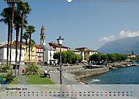 Am Lago Maggiore - Aquarelle und Fotografien (Wandkalender 2019 DIN A2 quer) - Produktdetailbild 11