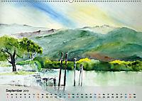 Am Lago Maggiore - Aquarelle und Fotografien (Wandkalender 2019 DIN A2 quer) - Produktdetailbild 9