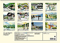 Am Lago Maggiore - Aquarelle und Fotografien (Wandkalender 2019 DIN A2 quer) - Produktdetailbild 13